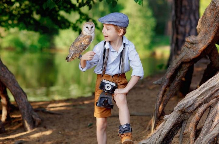Фотосессии в лесу